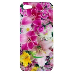Colorful Flowers Patterns Apple Iphone 5 Hardshell Case