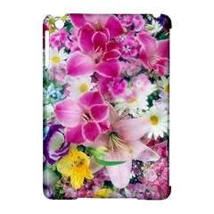 Colorful Flowers Patterns Apple Ipad Mini Hardshell Case (compatible With Smart Cover)