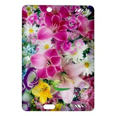 Colorful Flowers Patterns Amazon Kindle Fire Hd (2013) Hardshell Case