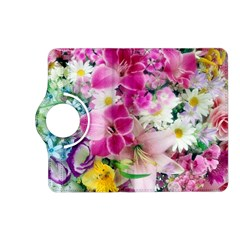 Colorful Flowers Patterns Kindle Fire Hd (2013) Flip 360 Case