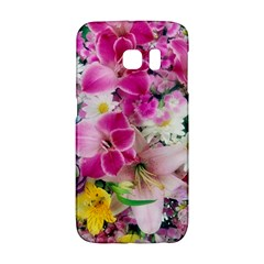 Colorful Flowers Patterns Galaxy S6 Edge