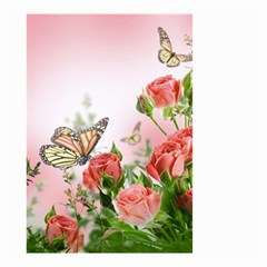 Flora Butterfly Roses Small Garden Flag (two Sides)