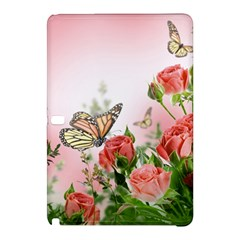 Flora Butterfly Roses Samsung Galaxy Tab Pro 10 1 Hardshell Case