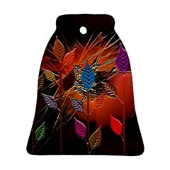 Colorful Leaves Ornament (bell)