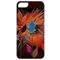 Colorful Leaves Apple Iphone 5 Classic Hardshell Case