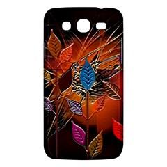 Colorful Leaves Samsung Galaxy Mega 5 8 I9152 Hardshell Case