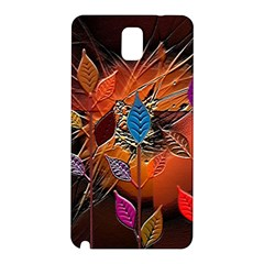 Colorful Leaves Samsung Galaxy Note 3 N9005 Hardshell Back Case