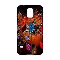 Colorful Leaves Samsung Galaxy S5 Hardshell Case
