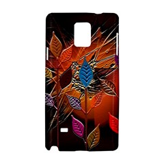 Colorful Leaves Samsung Galaxy Note 4 Hardshell Case