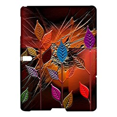 Colorful Leaves Samsung Galaxy Tab S (10 5 ) Hardshell Case