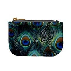Feathers Art Peacock Sheets Patterns Mini Coin Purses