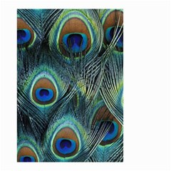 Feathers Art Peacock Sheets Patterns Small Garden Flag (two Sides)