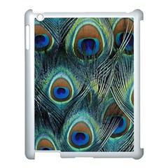 Feathers Art Peacock Sheets Patterns Apple Ipad 3/4 Case (white)