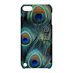 Feathers Art Peacock Sheets Patterns Apple Ipod Touch 5 Hardshell Case With Stand