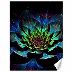Fractal Flowers Abstract Petals Glitter Lights Art 3d Canvas 36  X 48