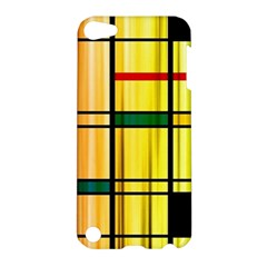 Line Rainbow Grid Abstract Apple Ipod Touch 5 Hardshell Case