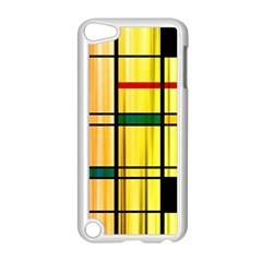 Line Rainbow Grid Abstract Apple Ipod Touch 5 Case (white)