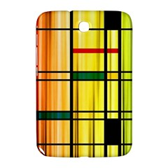 Line Rainbow Grid Abstract Samsung Galaxy Note 8 0 N5100 Hardshell Case