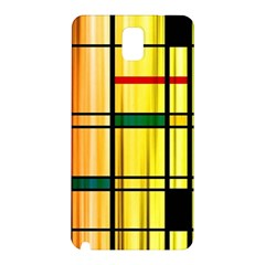 Line Rainbow Grid Abstract Samsung Galaxy Note 3 N9005 Hardshell Back Case