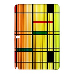 Line Rainbow Grid Abstract Samsung Galaxy Tab Pro 12 2 Hardshell Case