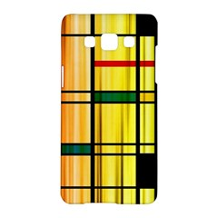 Line Rainbow Grid Abstract Samsung Galaxy A5 Hardshell Case