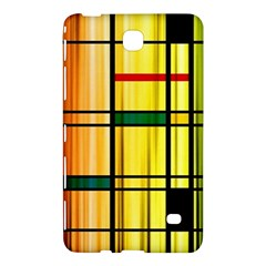 Line Rainbow Grid Abstract Samsung Galaxy Tab 4 (7 ) Hardshell Case