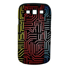 Circuit Board Seamless Patterns Set Samsung Galaxy S Iii Classic Hardshell Case (pc+silicone)