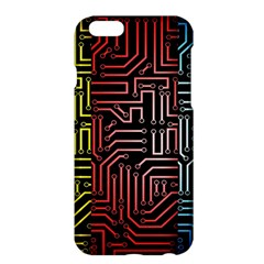 Circuit Board Seamless Patterns Set Apple Iphone 6 Plus/6s Plus Hardshell Case