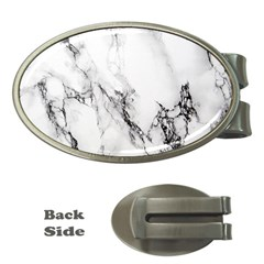 Marble Pattern Money Clips (oval)