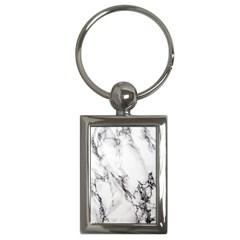 Marble Pattern Key Chains (rectangle)