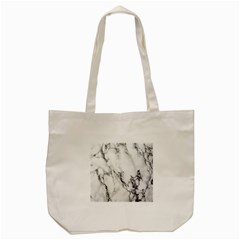Marble Pattern Tote Bag (cream)