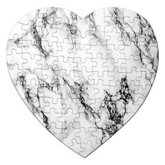 Marble Pattern Jigsaw Puzzle (heart)