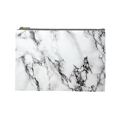 Marble Pattern Cosmetic Bag (large)