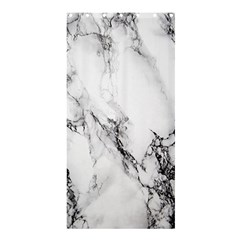 Marble Pattern Shower Curtain 36  X 72  (stall)