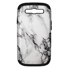 Marble Pattern Samsung Galaxy S Iii Hardshell Case (pc+silicone)