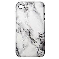 Marble Pattern Apple Iphone 4/4s Hardshell Case (pc+silicone)