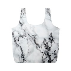 Marble Pattern Full Print Recycle Bags (m)
