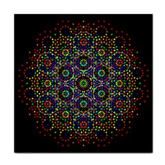The Flower Of Life Tile Coasters