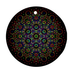 The Flower Of Life Ornament (round)