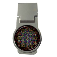 The Flower Of Life Money Clips (round)