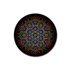 The Flower Of Life Magnet 3  (round)