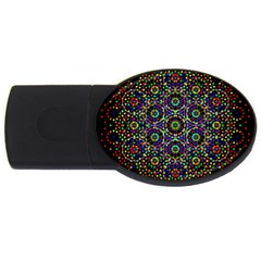 The Flower Of Life Usb Flash Drive Oval (2 Gb)