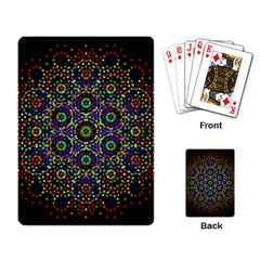 The Flower Of Life Playing Card