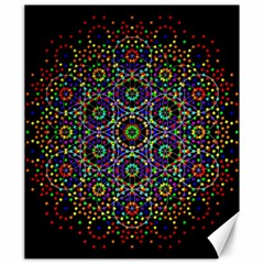 The Flower Of Life Canvas 20  X 24