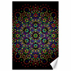 The Flower Of Life Canvas 20  X 30