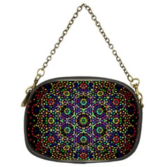 The Flower Of Life Chain Purses (two Sides)
