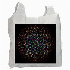 The Flower Of Life Recycle Bag (two Side)