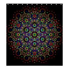 The Flower Of Life Shower Curtain 66  X 72  (large)