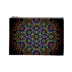 The Flower Of Life Cosmetic Bag (large)
