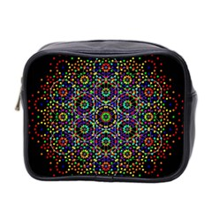 The Flower Of Life Mini Toiletries Bag 2 Side